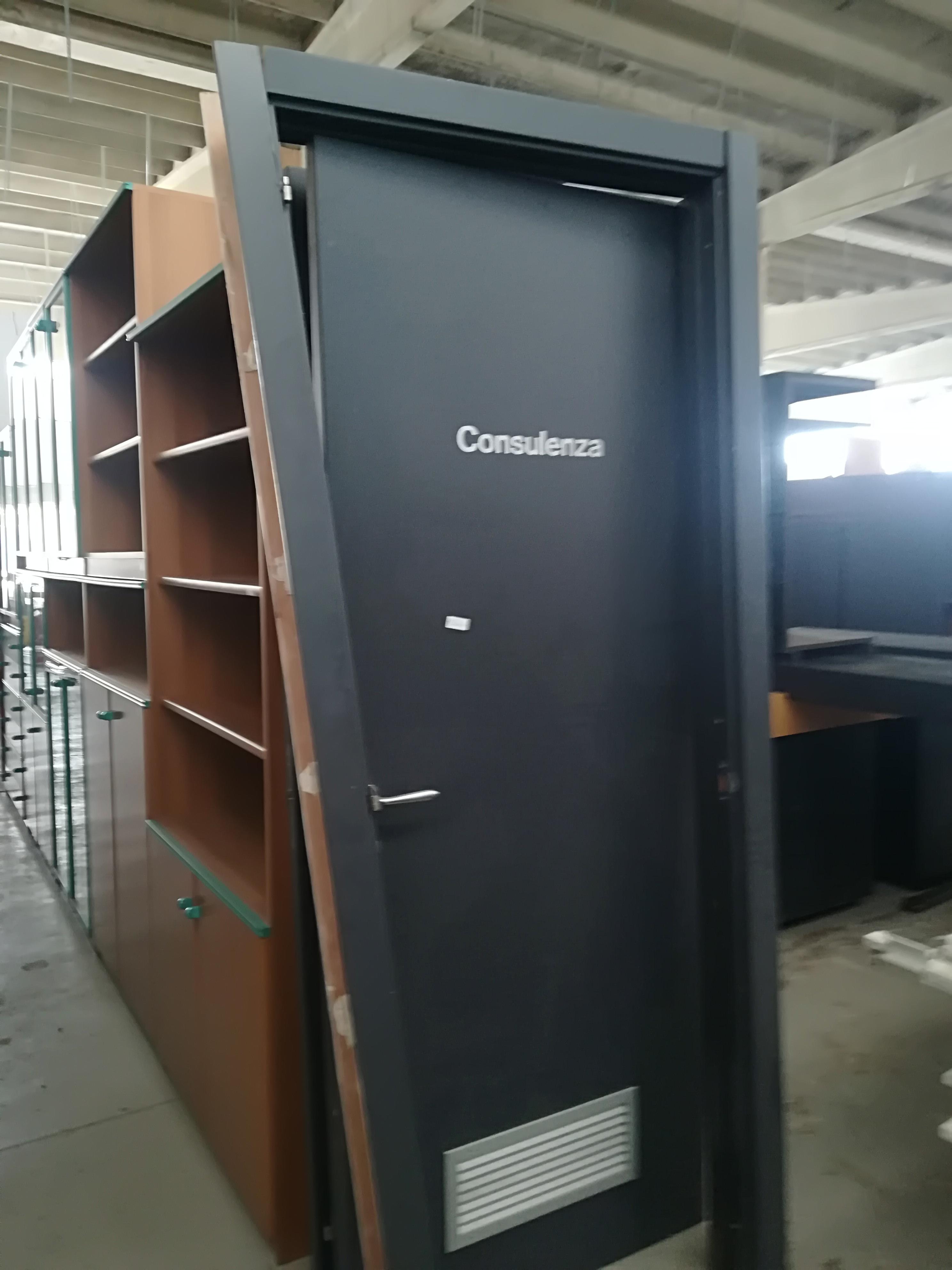 Porte grigie 2164 barrale discount for Scaffalature per negozi e arredi ufficio usato palermo