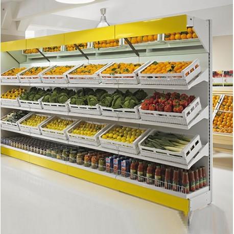 Scaffalature In Ferro Usate.Scaffale Frutta E Verdura 2409 Barrale Discount