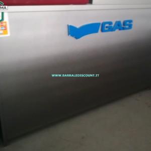 BANCO GAS CASSA PER NEGOZIO CON LOGO GAS IN RILIEVO MA REMOVIBILE COLORE GRIGIO 60 X 100 X 180 CM INTERNAMENTE BEN ORGANIZZATO CON MENSOLE E CASSETTI BUONE CONDIZIONI