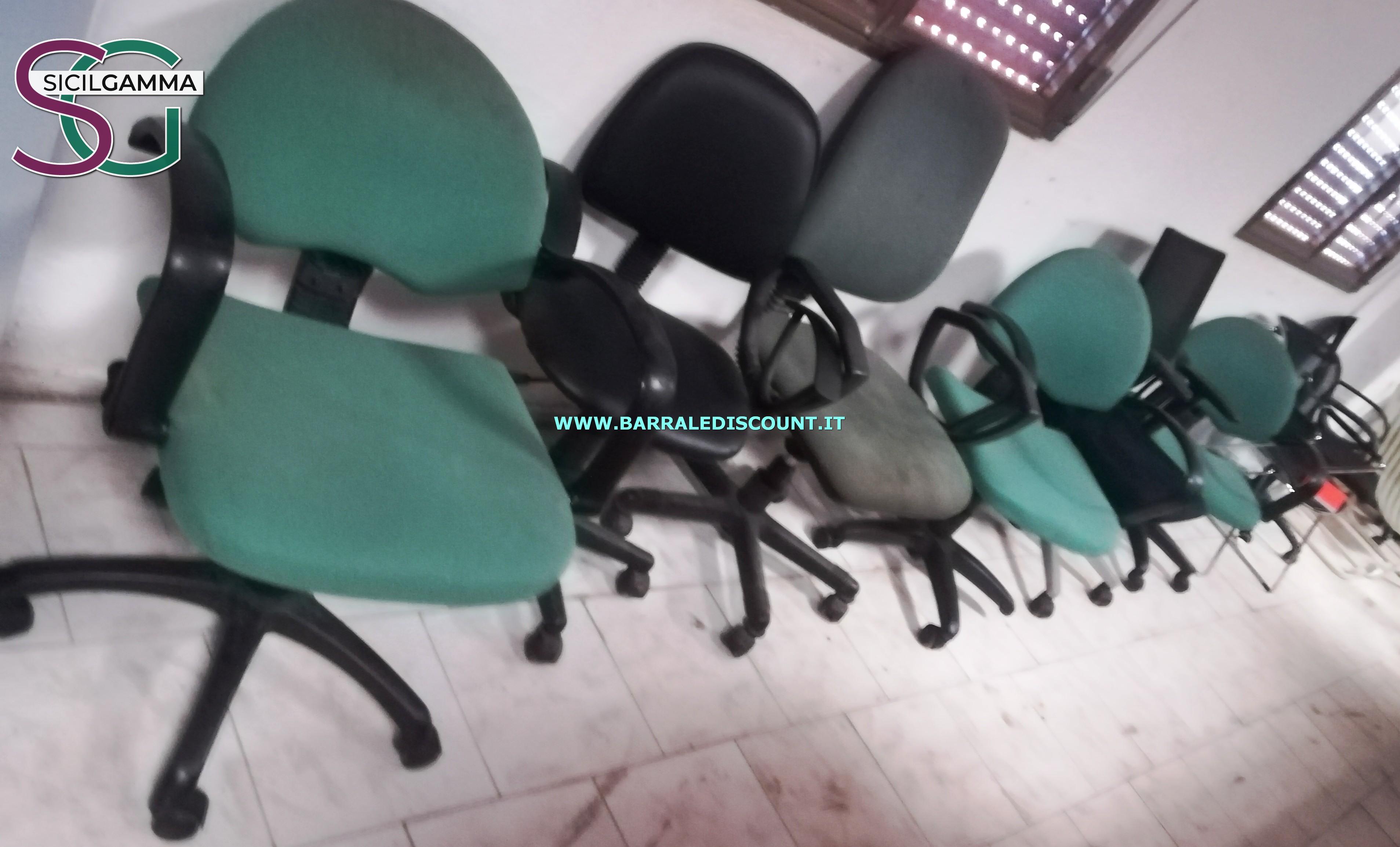 Sedie ufficio 4415 barrale discount for Negozi sedie ufficio