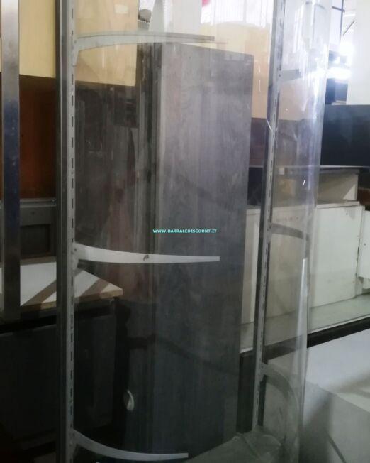 VETRINA BOMBATAvetrina esposizione con frontale in plexiglas bombatobase verde3 uguali disponibilimisura 70 x 50 x 180 cm