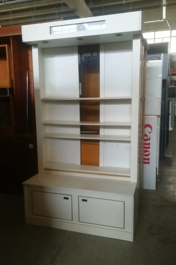 ESPOSITORE BIANCO PANNA 8910