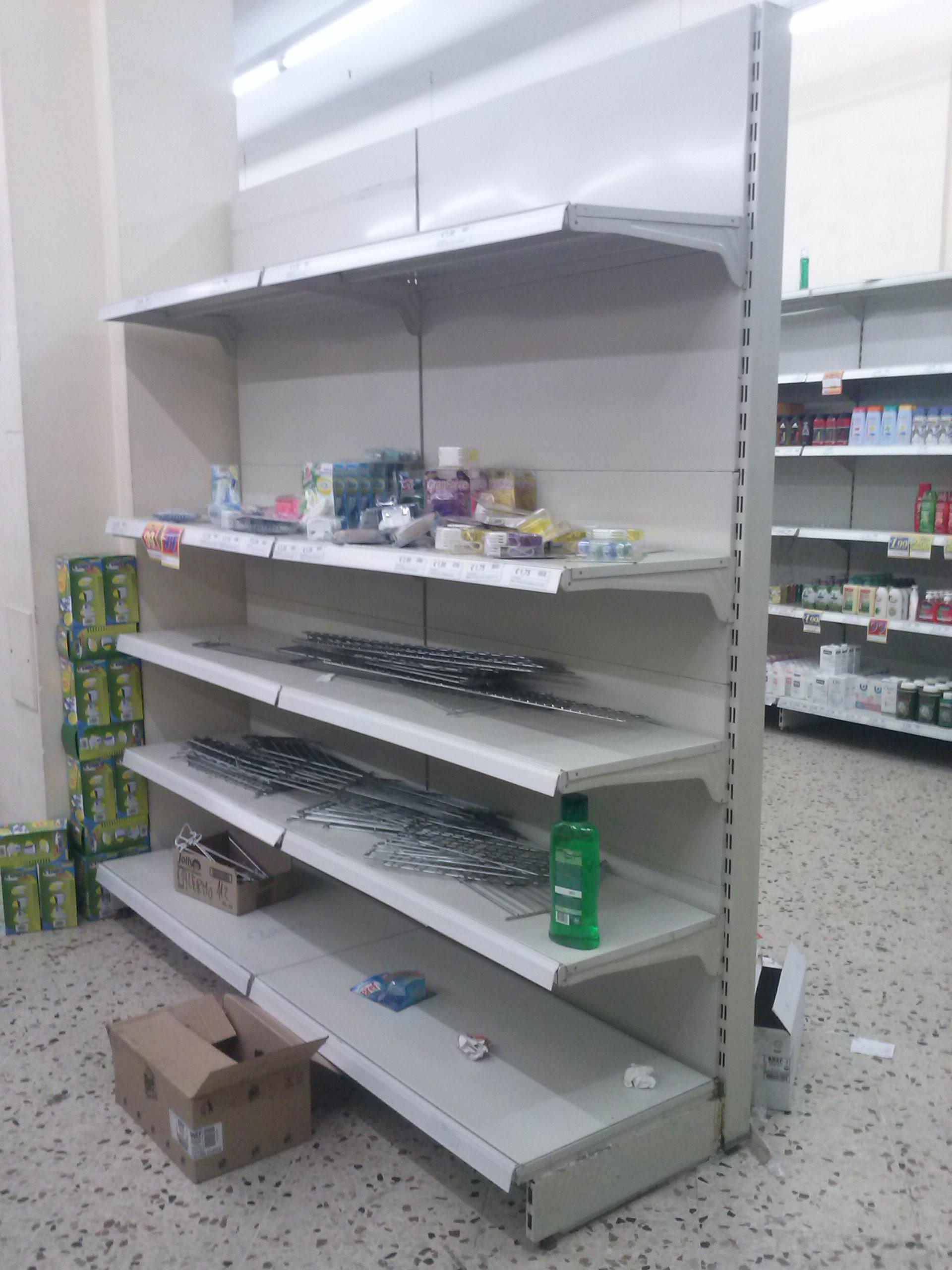 Scaffalature Per Ferramenta Usate.Scaffali Supermarket 5165 Barrale Discount